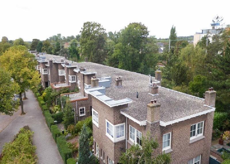 Haarlem, restauratie 40+40+4 woningen Rosehaghe