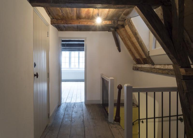 Amsterdam, restauratie woonhuis Rapenburg 13